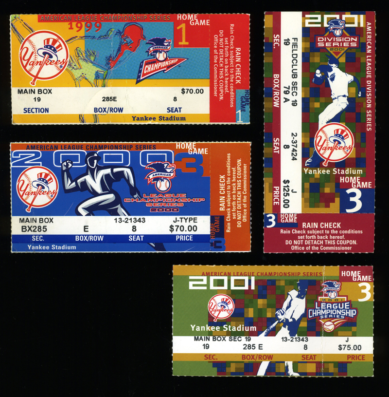 Yankees Playoff Tickets