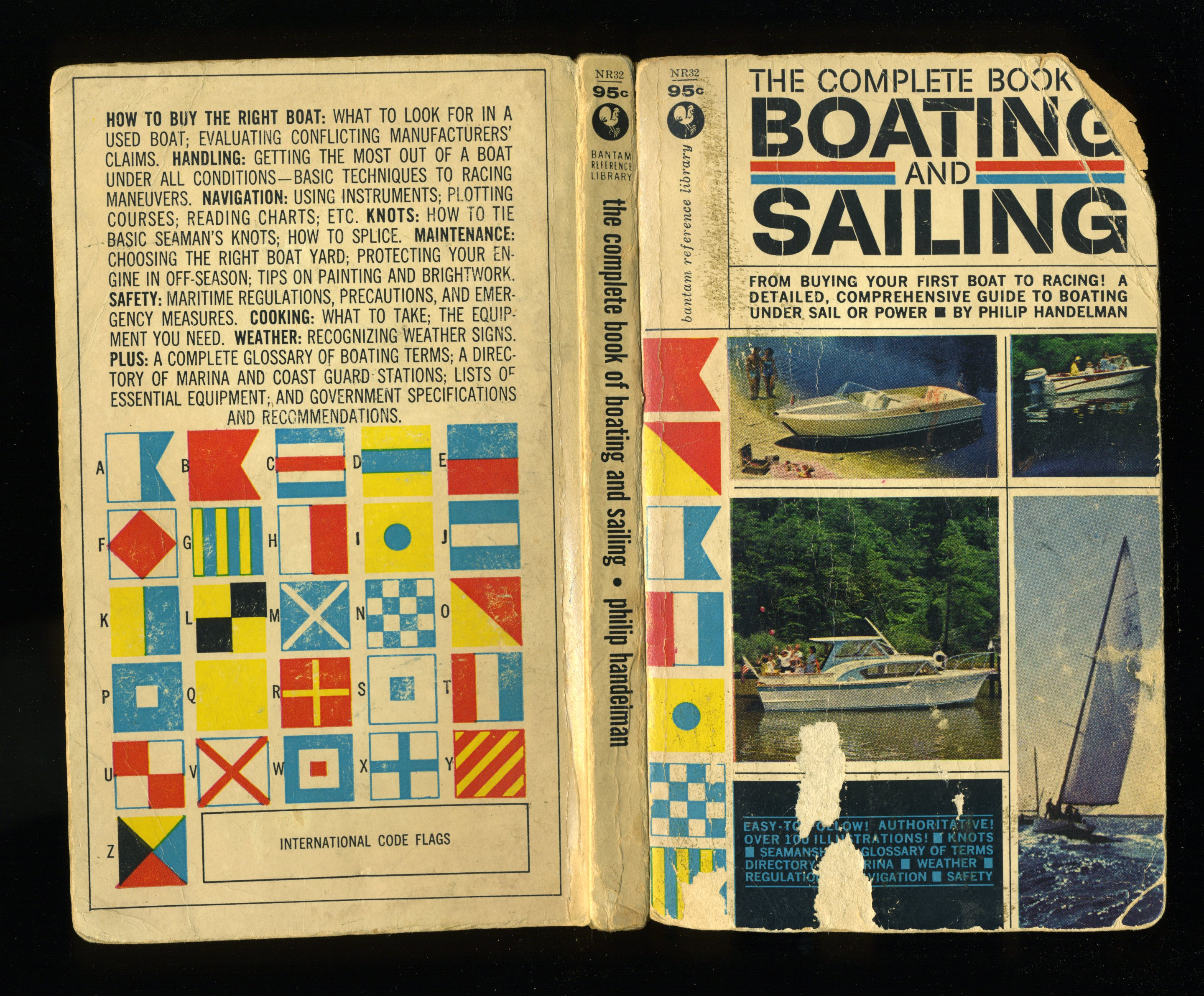 Vernacular Typography Complete Book of Boating Cover