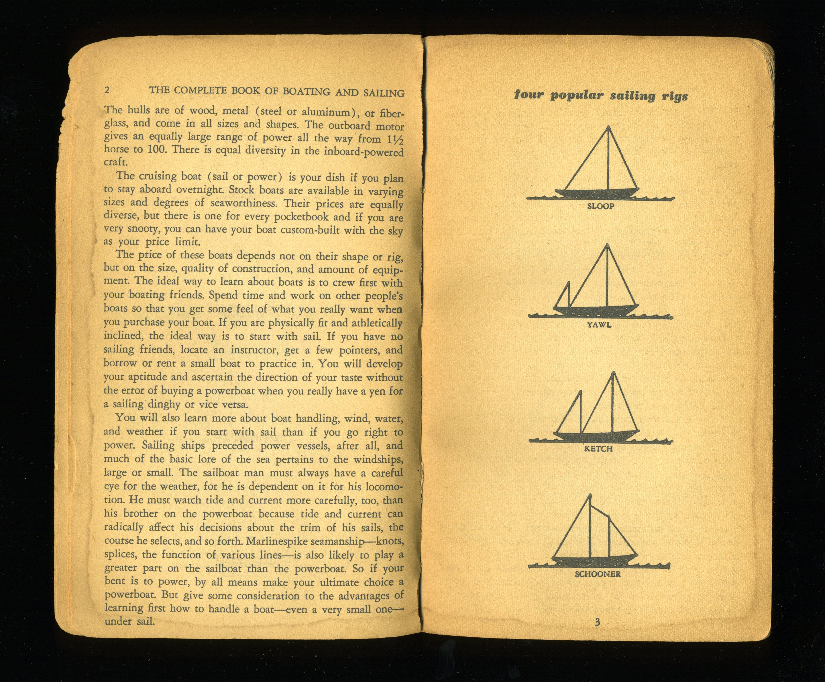 Vernacular Typography Complete Book of Boating