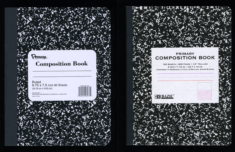 Roaring Spring Composition Notebook Pattern