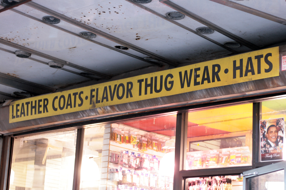 Vernacular Typography Newark Thug Wear