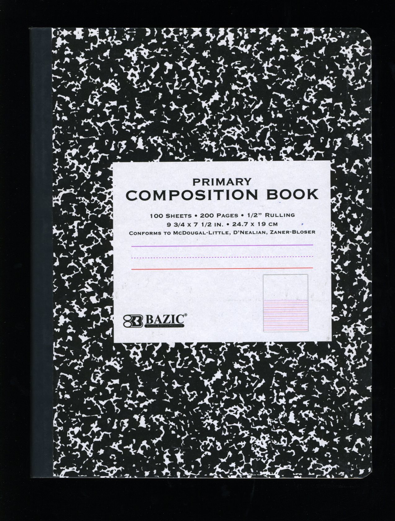 Composition Book Cover Background ~ Composition books vernacular typography