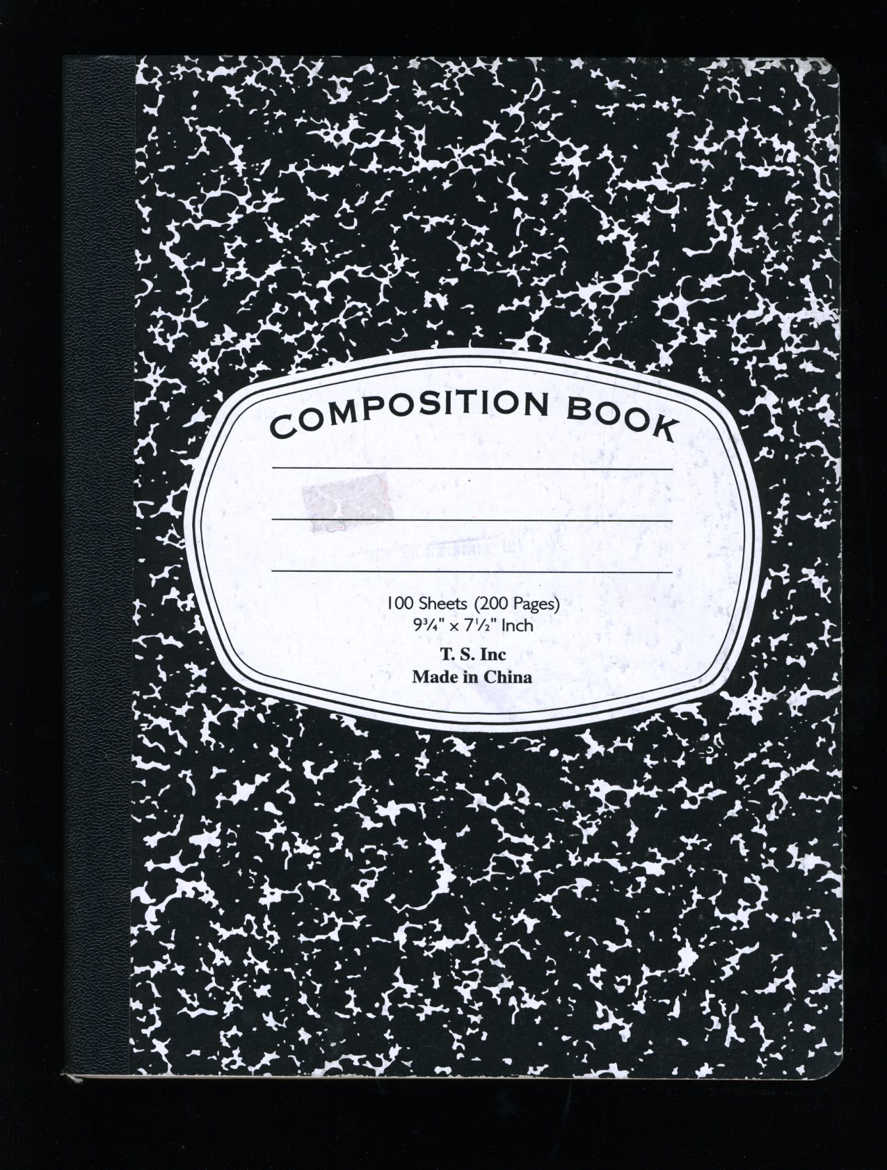 Composition Book Cover Template ~ Composition books vernacular typography
