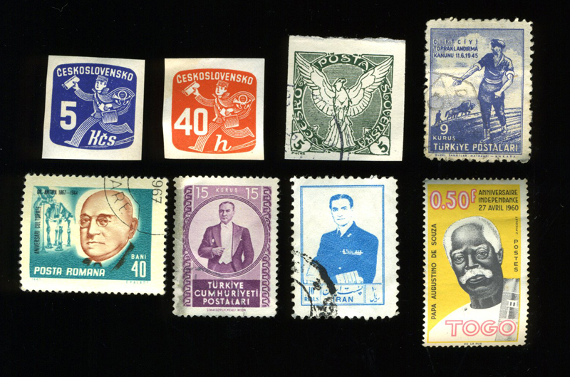 Vernacular Typography Guys on Stamps