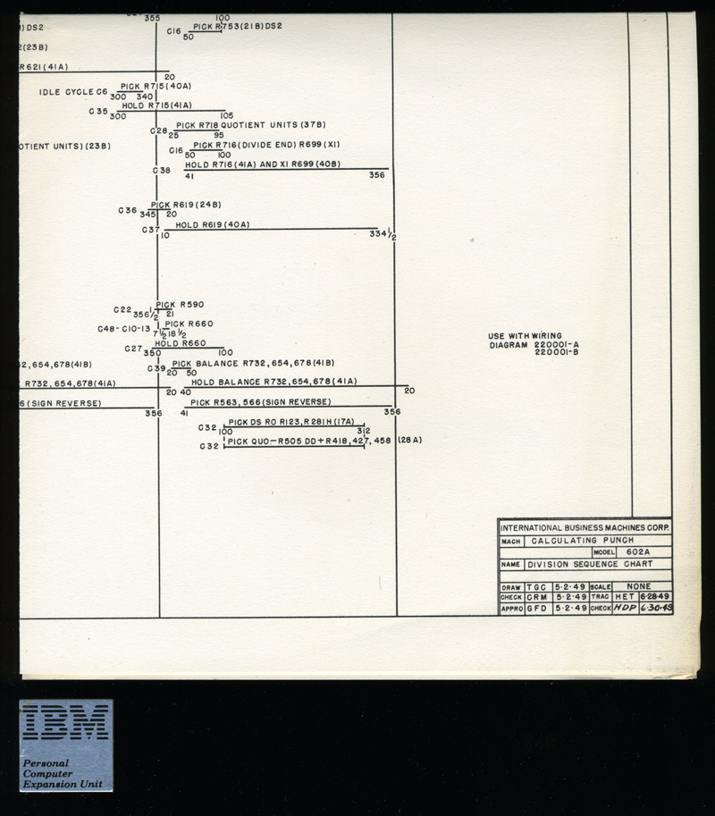 IBM Calculating Punch Schematics