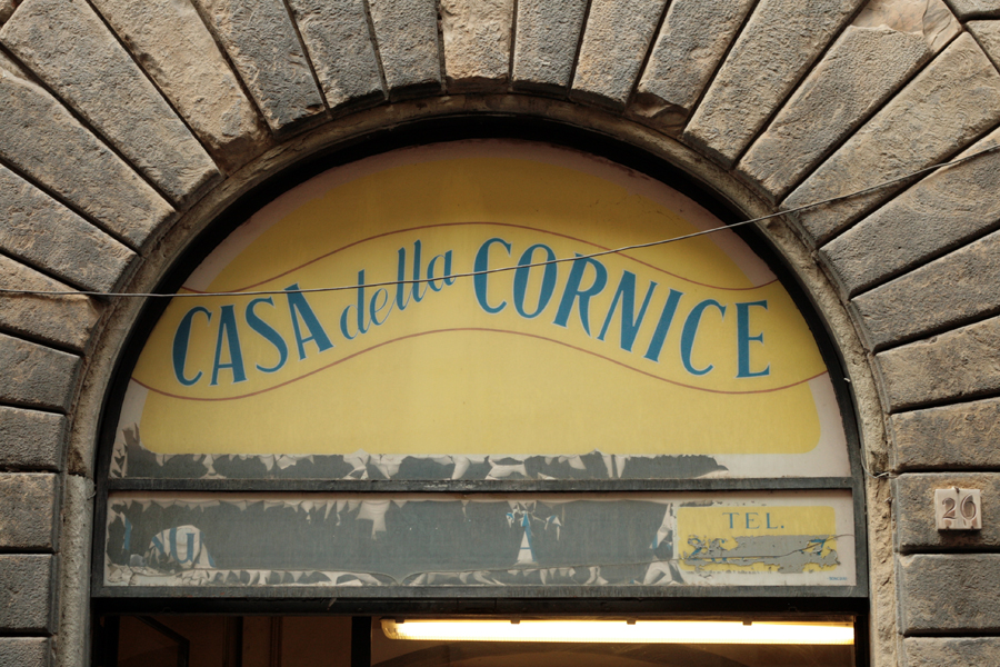 Vernacular Typography Florence Italy 009