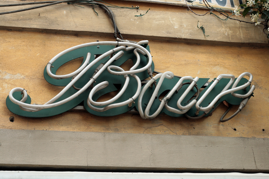 Vernacular Typography Florence Italy 014