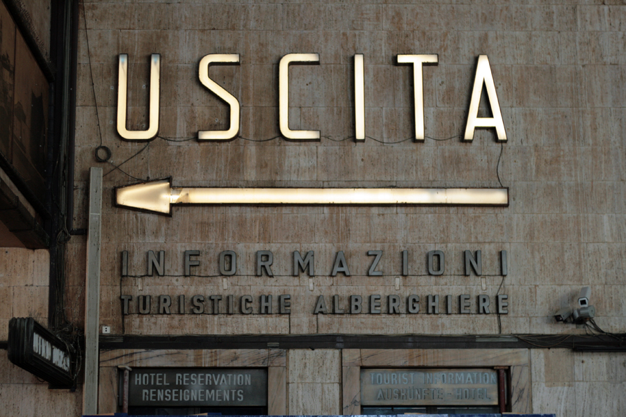 Vernacular Typography Florence Italy 016