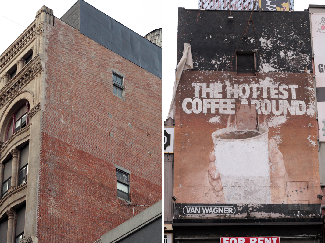 The Hottest Coffee Around Ghost Ad Fulton Mall Brooklyn