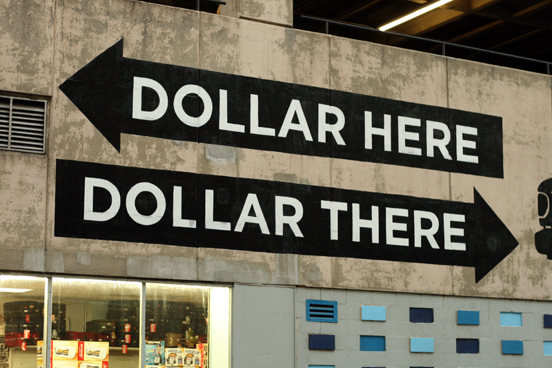 DOLLAR HERE DOLLAR THERE Steve Powers ESPO Brooklyn
