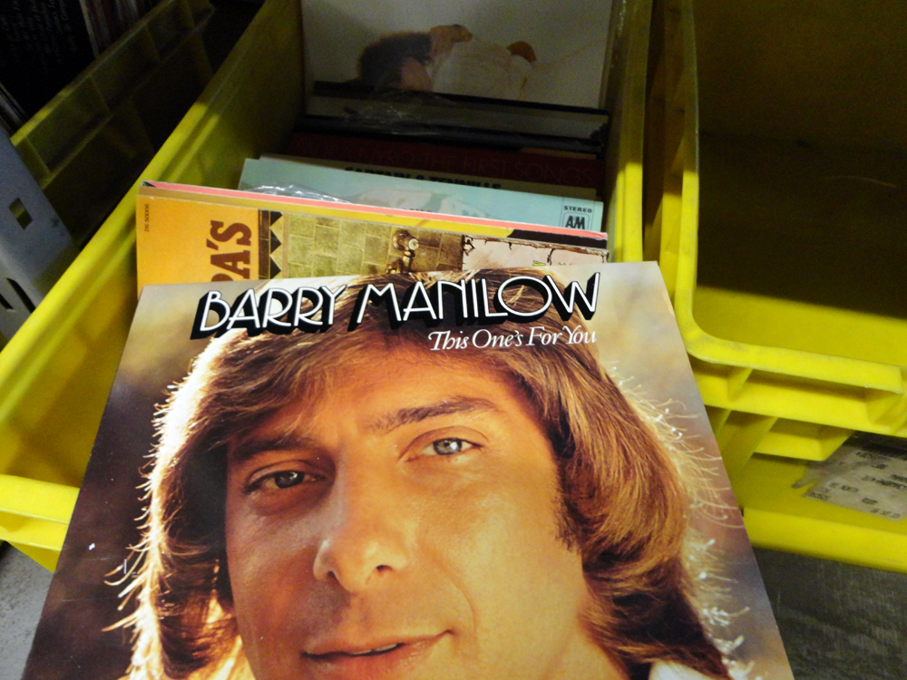 Barry Manilow This One's For You Record Cover Materials for the Arts
