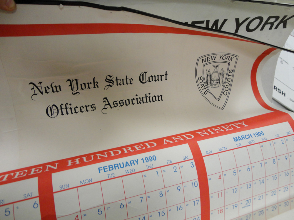 Materials for the Arts State Court Calendar