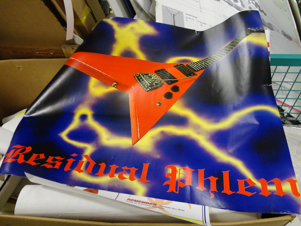 Materials for the Arts Residual Phlem Poster