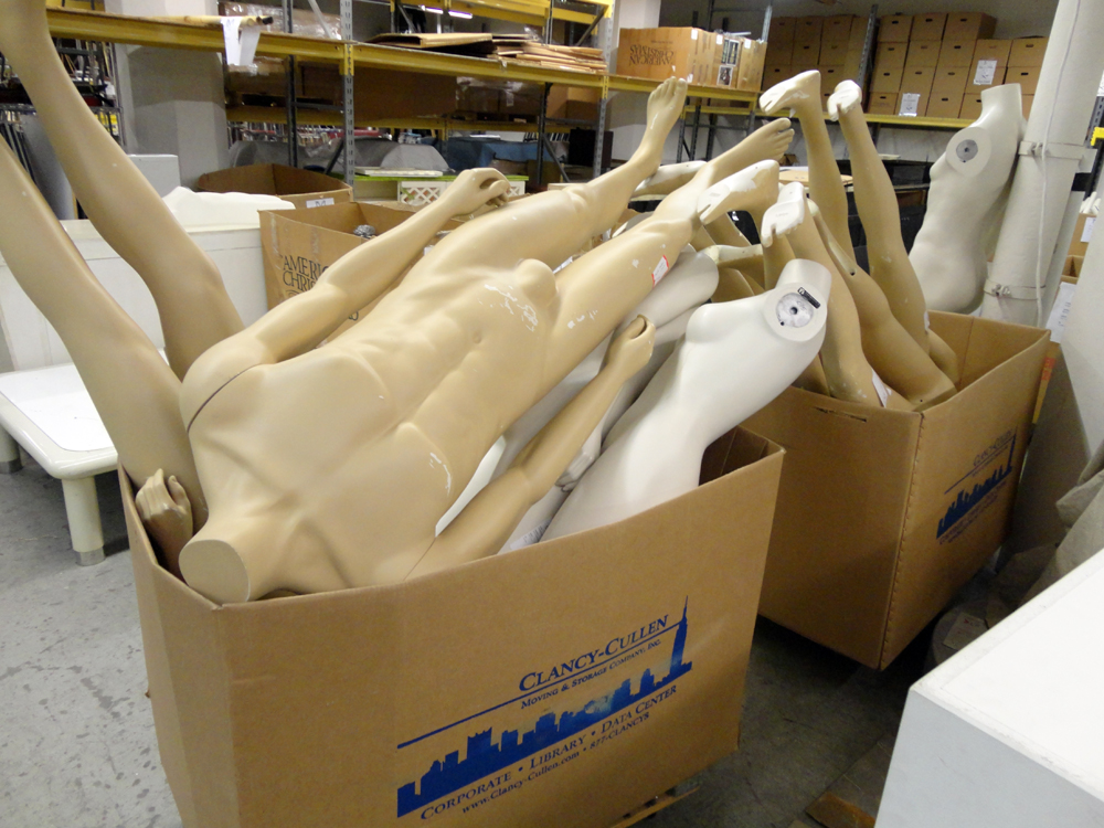 Materials for the Arts mannequins