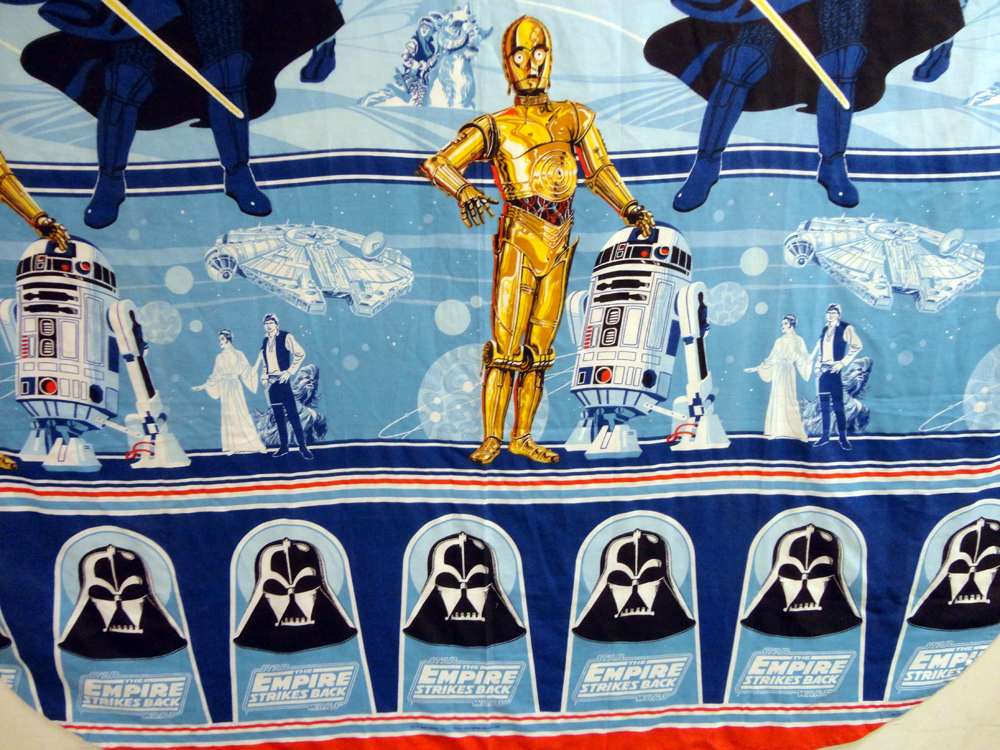 Troy & Abed Star Wars Sheets Materials for the Arts