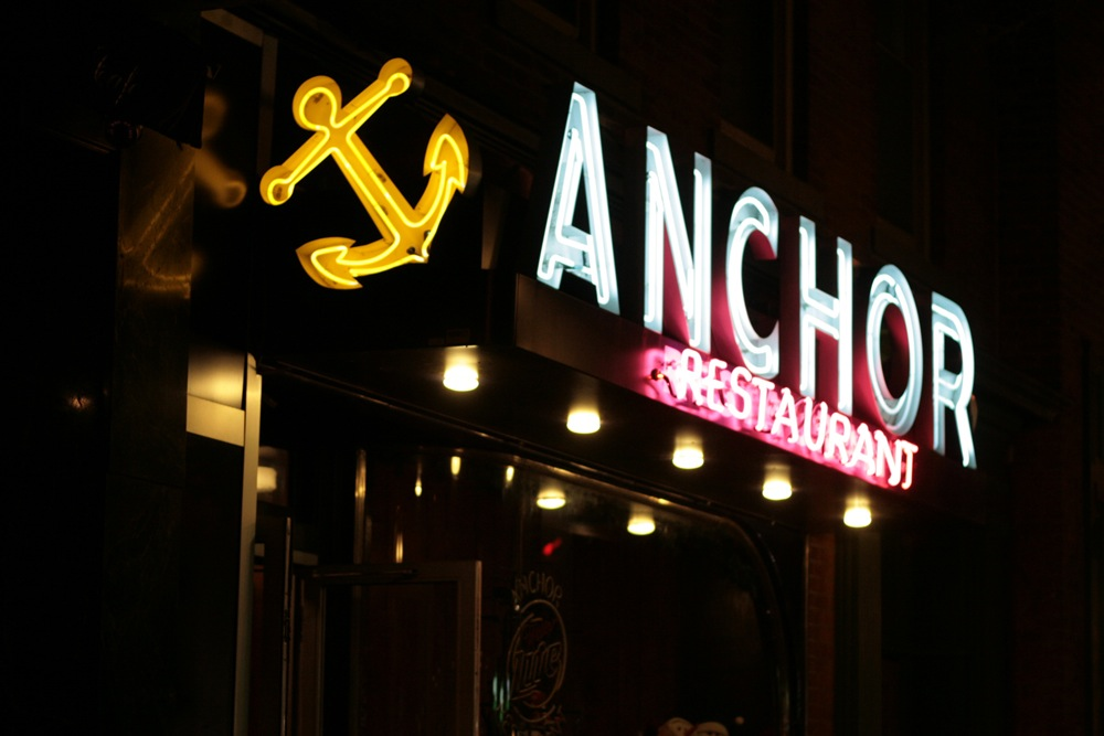 New Haven Anchor Neon Sign