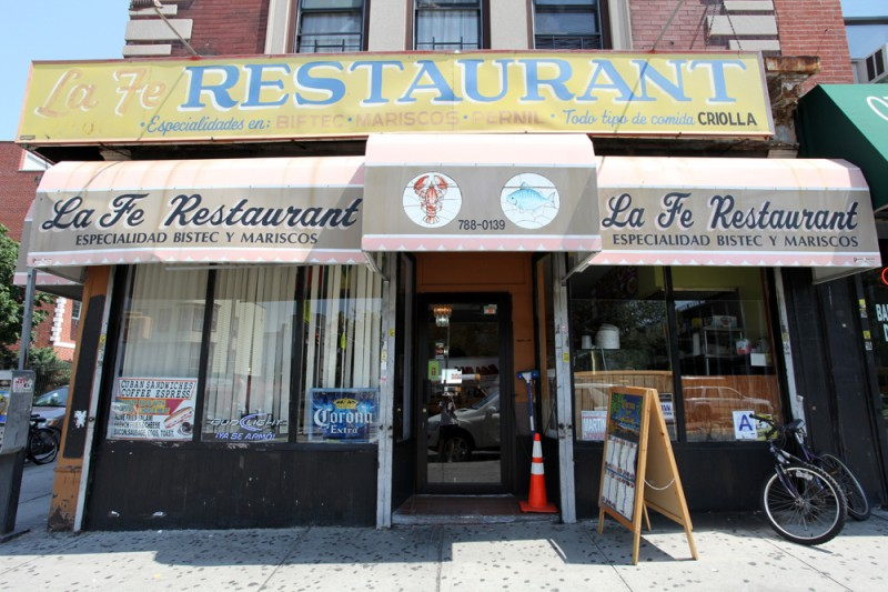 Woodward Vernacular Typography Sunset Park Brooklyn La Fe Restaurant
