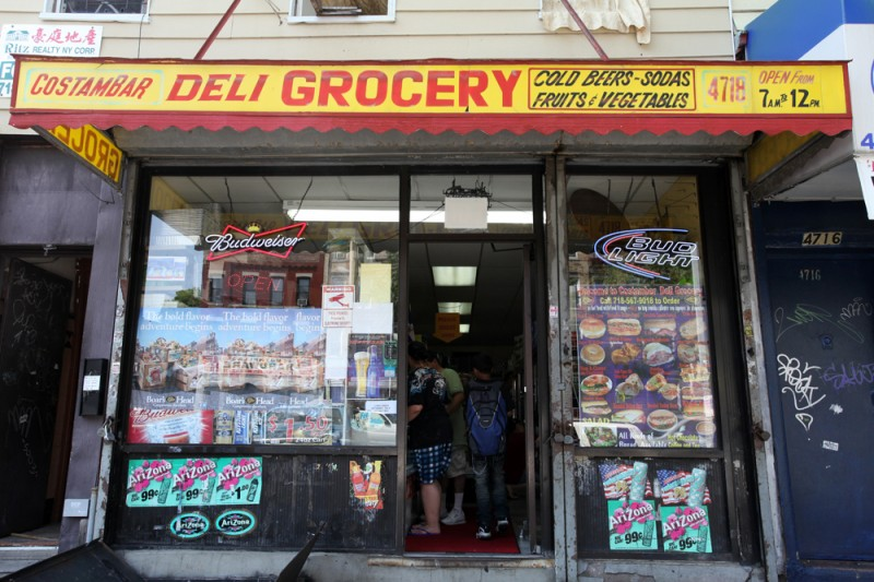 Woodward Vernacular Typography Sunset Park Brooklyn Costambar Grocery