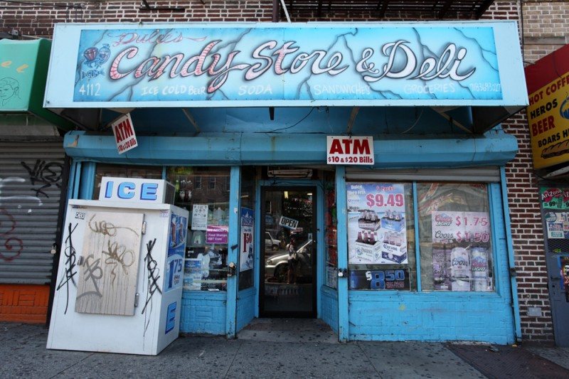 Woodward Vernacular Typography Sunset Park Brooklyn Dulce's Candy Store