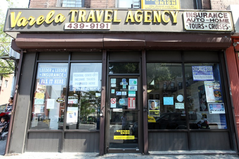 Woodward Vernacular Typography Sunset Park Brooklyn Varela Travel Agency