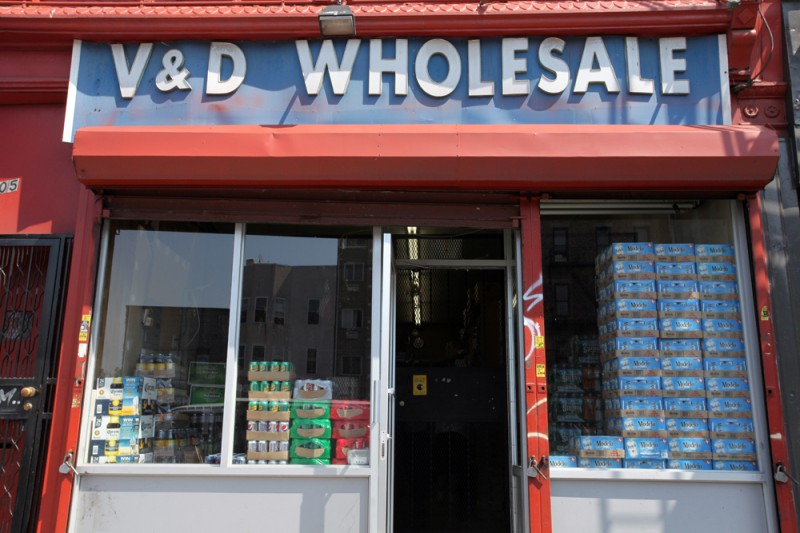 Woodward Vernacular Typography Sunset Park Brooklyn V&D Wholesale