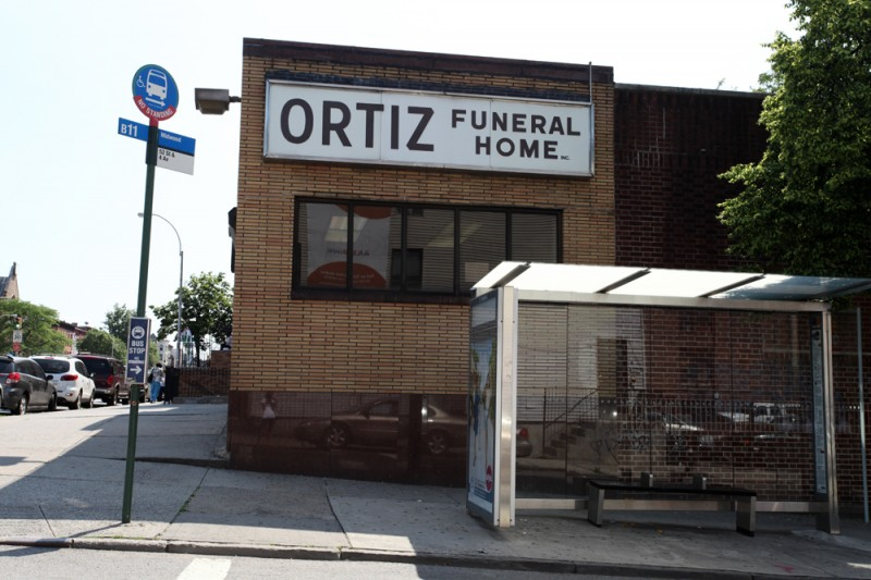Woodward Vernacular Typography Sunset Park Brooklyn Ortiz Funeral Home