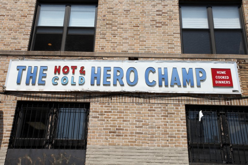 Woodward Vernacular Typography Sunset Park Brooklyn The Hero Champ