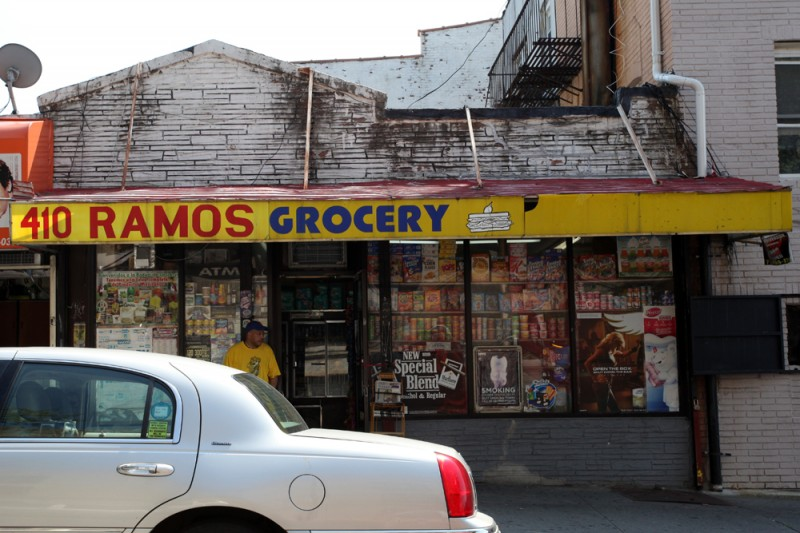 Woodward Vernacular Typography Sunset Park Brooklyn Ramos Grocery Sign