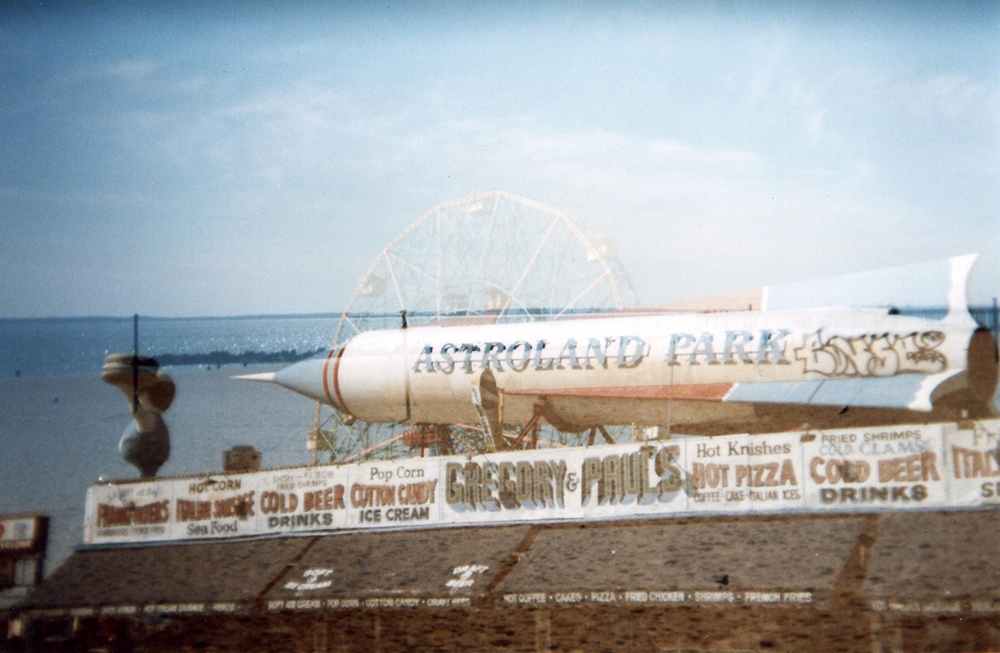 Vernacular Typography Coney Island Astroland Park Gregory & Paul's