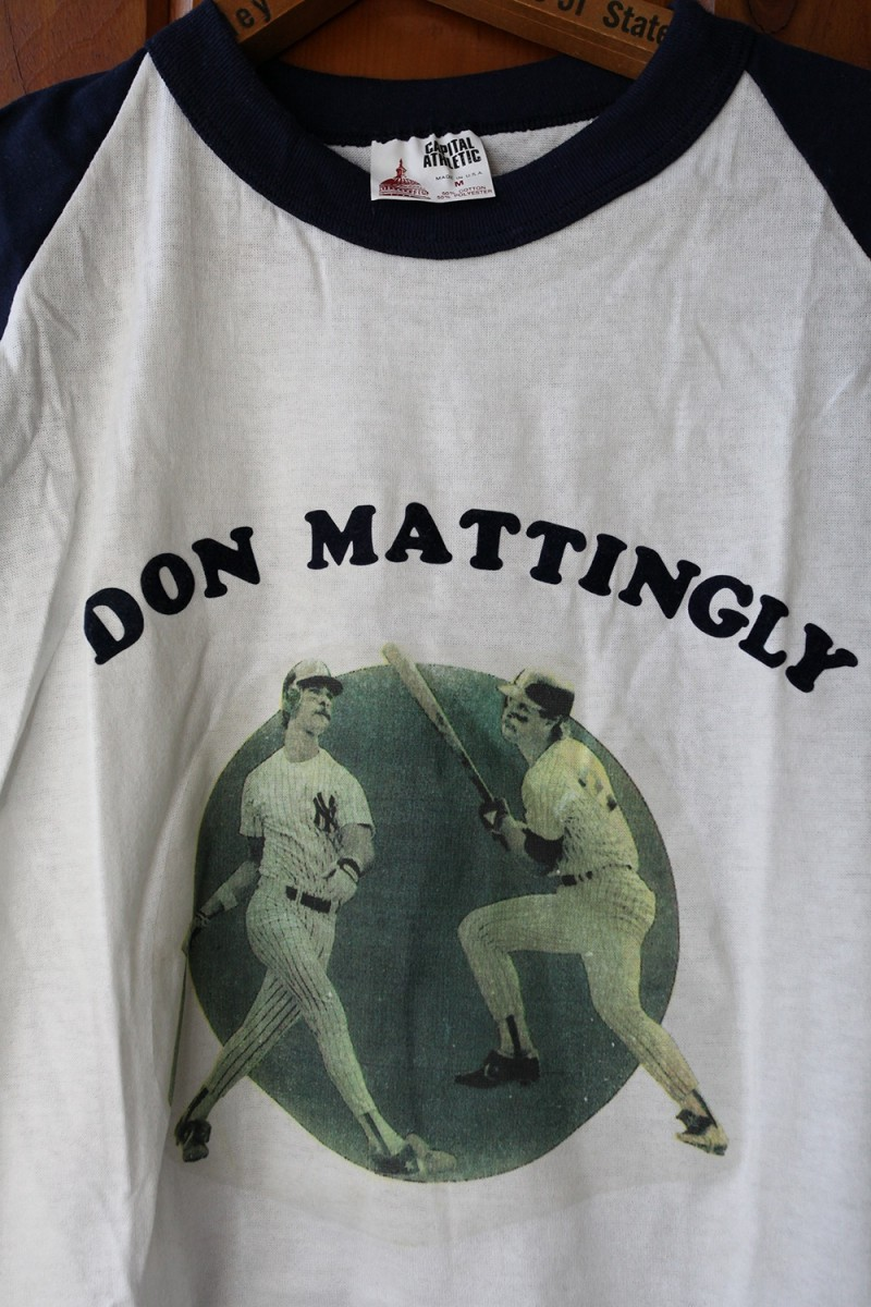 Don Mattingly Vintage Baseball Tee Shirt