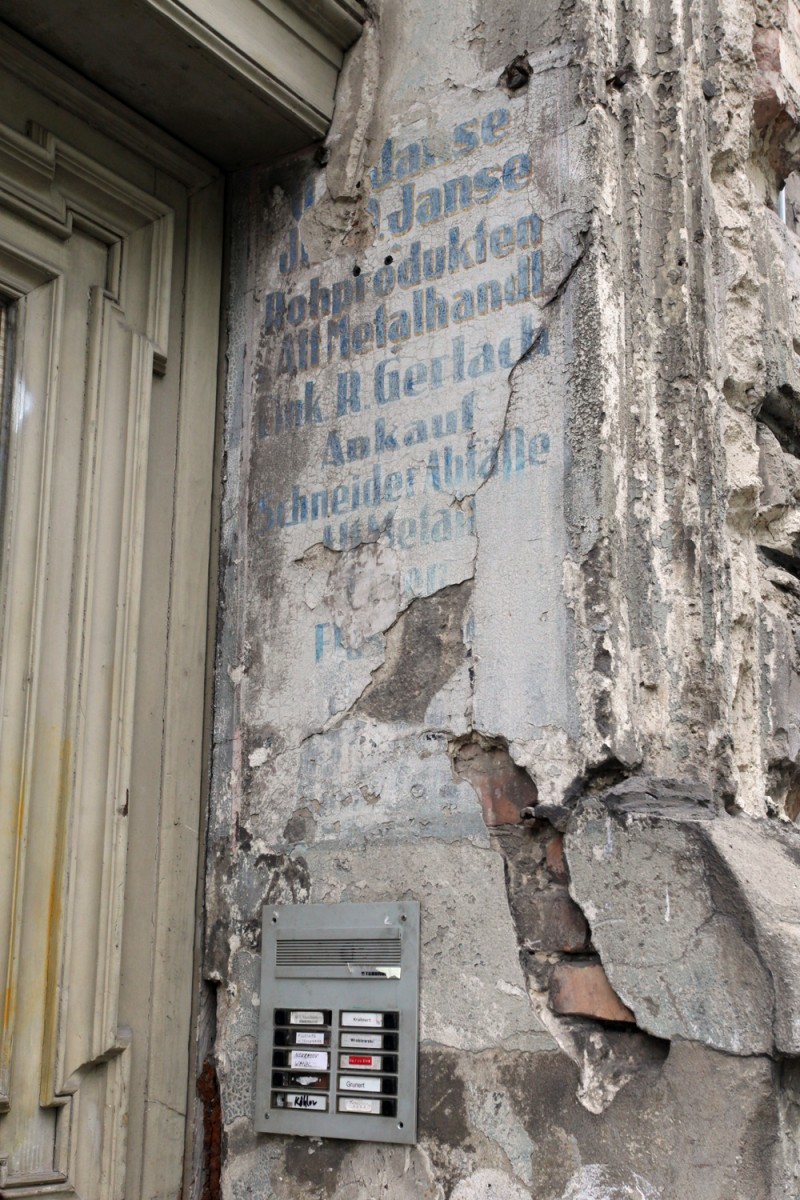 Vernacular Typography Berlin Ghost Sign