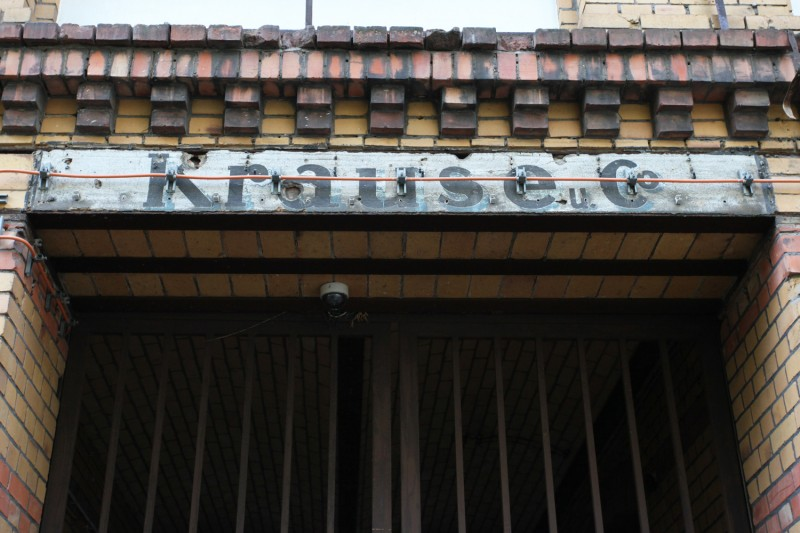 Vernacular Typography Berlin Hand Painted Ghost Sign