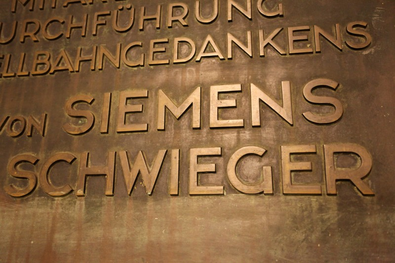 Vernacular Typography Berlin Plaque
