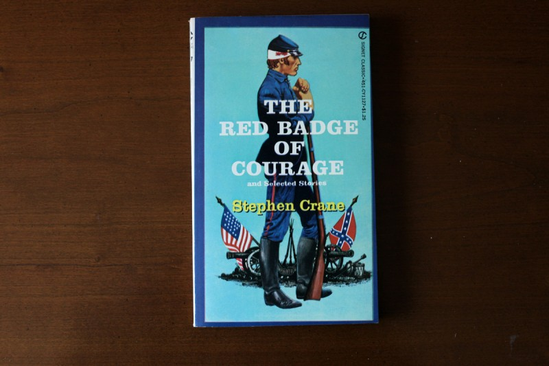 Woodward Vernacular Typography The Red Badge of Courage Book Cover