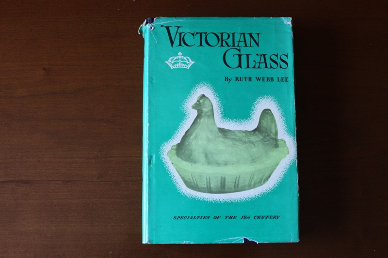 Woodward Vernacular Typography Hardcover Book Victorian Glass