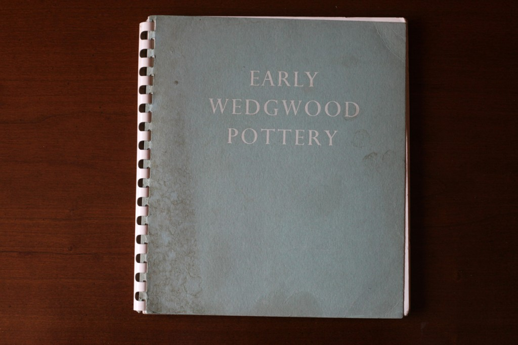 Woodward Vernacular Typography Early Wedgwood Pottery Book