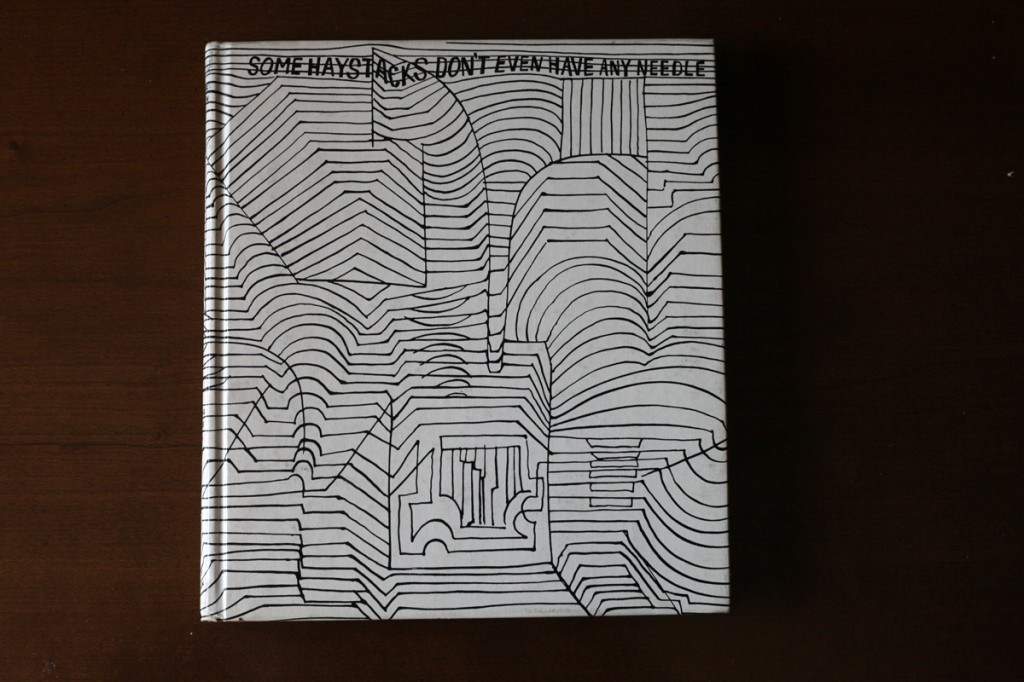 Woodward Vernacular Typography Hardcover Book Some Haystacks Don't Even Have Any Needles