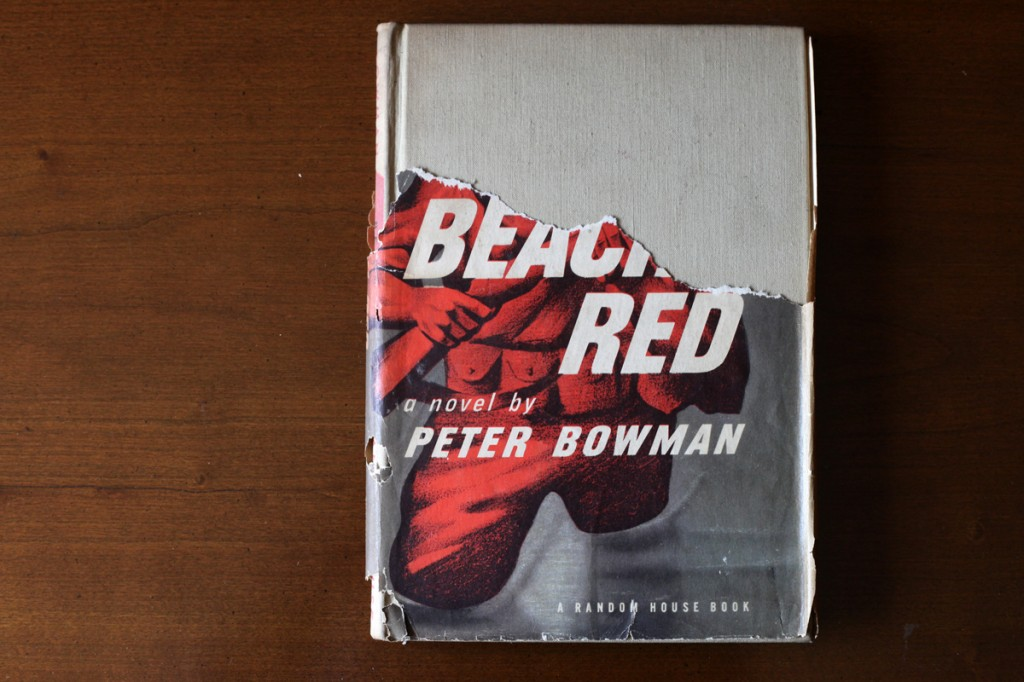 Woodward Vernacular Typography Hardcover Book Beach Red