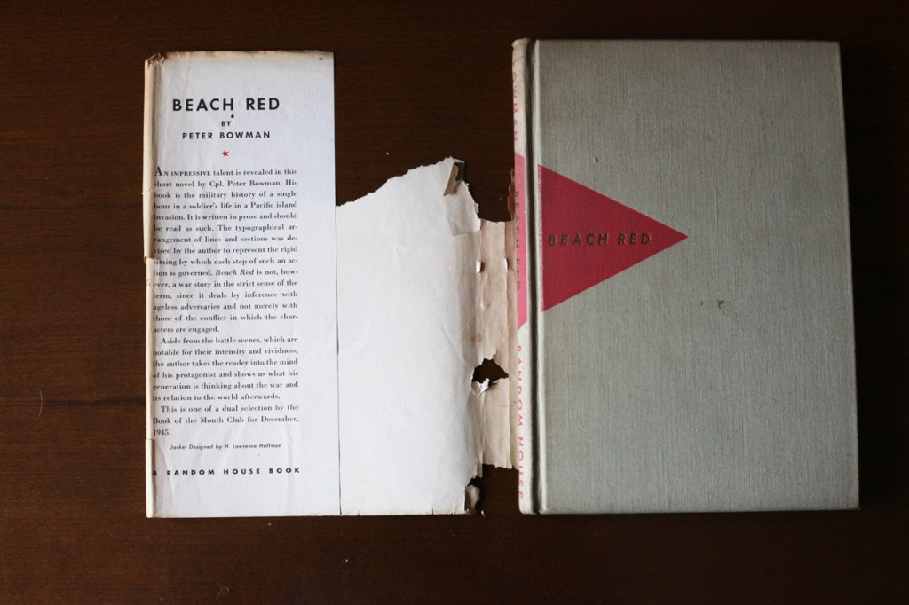 Woodward Vernacular Typography Hardcover Book Dust Jacket Beach Red
