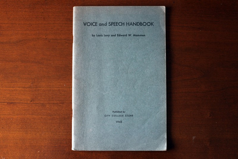 Woodward Vernacular Typography Voice and Speech Handbook 1945