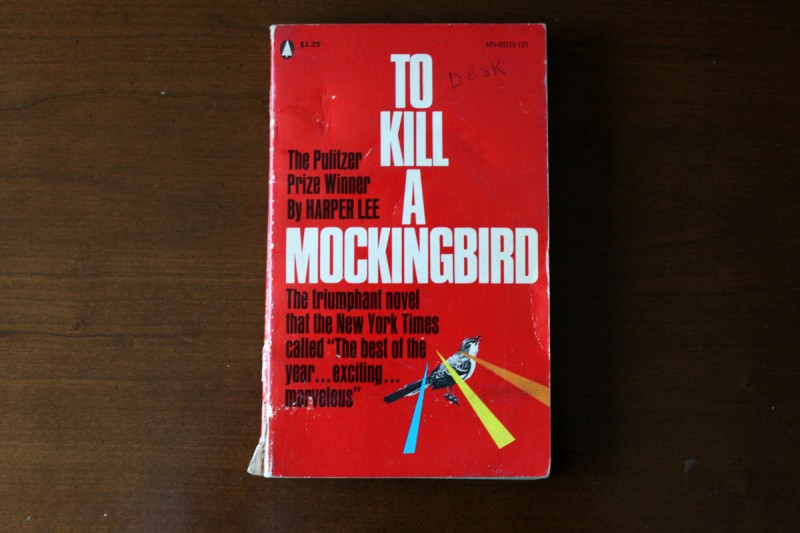 Woodward Vernacular Typography To Kill a Mockingbird Book Cover