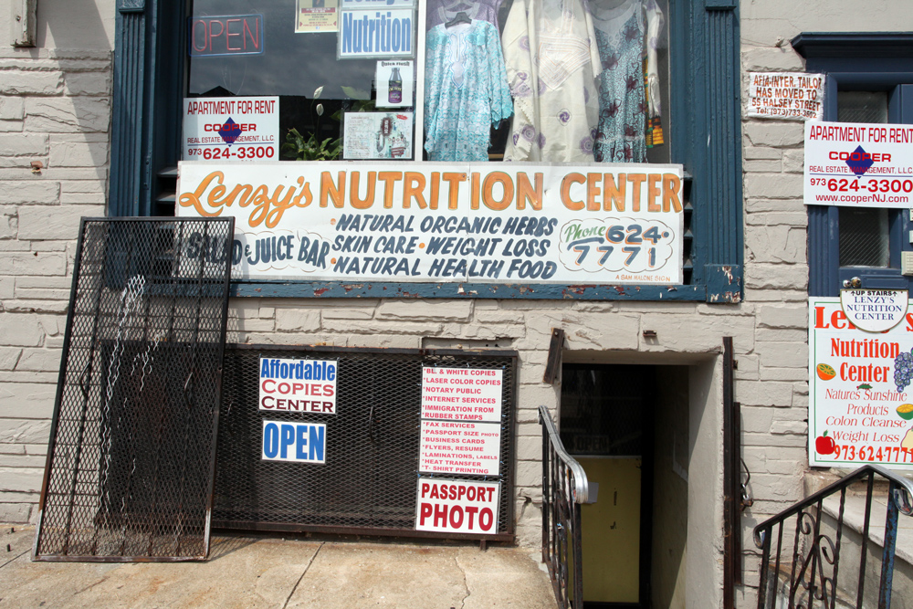 Molly Woodward Vernacular Typography Newark New Jersey Nutrition Center Signage