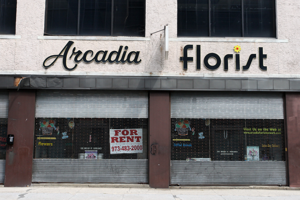 Molly Woodward Vernacular Typography Newark New Jersey Arcadia Florist Signage
