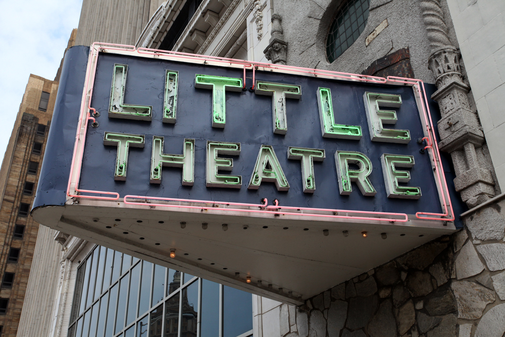 Molly Woodward Vernacular Typography Newark New Jersey Little Theatre Neon Sign