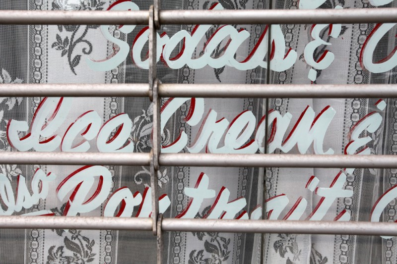 Molly Woodward Vernacular Typography Newark New Jersey Hand Painted Window Storefront