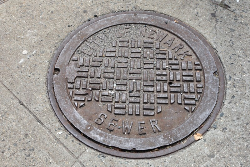 Molly Woodward Vernacular Typography Newark New Jersey Sewer