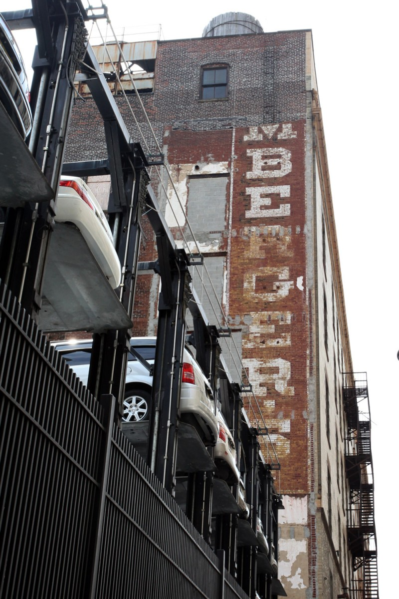 Molly Woodward Vernacular Typography Newark New Jersey MBERGER's Ghost Sign