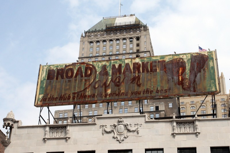 Molly Woodward Vernacular Typography Newark New Jersey Broad & Market Ghost Sign