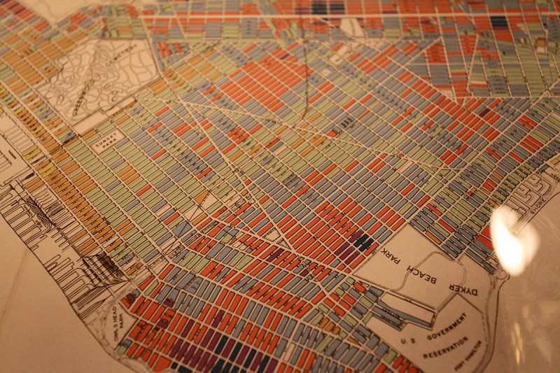 Woodward Vernacular Typography Brooklyn Historical Society Library Map