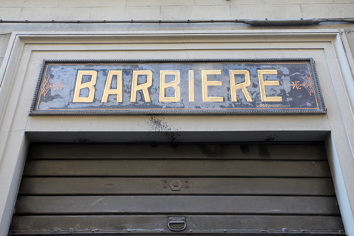 Molly woodward vernacular typography florence italy Vernacular typography